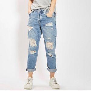 Topshop Hayden Rip Boyfriend Jeans